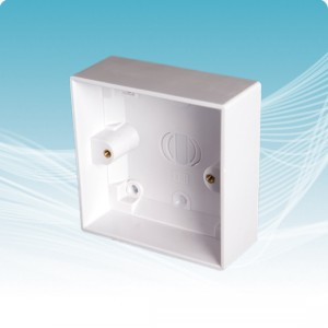 MSD-200 Single-Gang Surface Pattress Box (32mm deep)