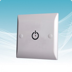 TDS3-L Time Delay Switch with LED push button for heating and lighting control